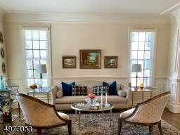 large scaled windows throughout allow an abundance of light