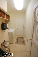 Enter the laundry and mudroom through the attached garage and leave your outdoor belongings in one spot!