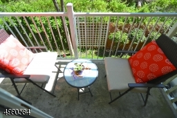 Remote work and morning coffee will never be more relaxing than it will be on your private balcony.