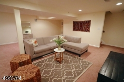 The coveted, full finished basement offers almost 600 additional square feet to this home.