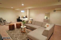 Retreat to your basement to relax, entertain and/or provide comfortable space for your guests.