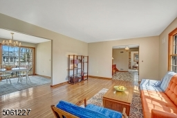 Views of entry Foyer and Formal Dining Room