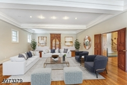 This Family Room is truly a Great Room!  Enter from either the Living Room or Library, and even from the outside. Watch your favorite movie on TV, gather with friends, host a party - this room is meant for entertaining! Virtually Staged.