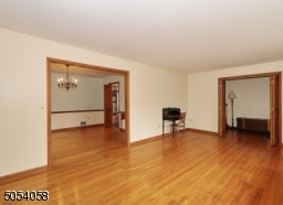 Open living room and dining room. perfect for entertaining.
