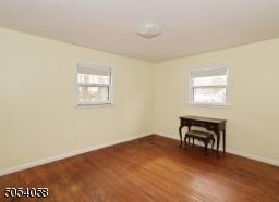Hardwood floors and freshly painted