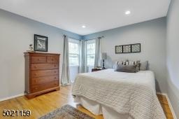 First floor bedroom conveniently located adjacent to first floor bathroom.