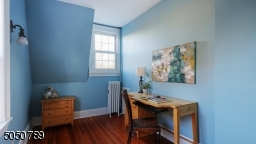 Sweet study space and lots of natural light for a soothing environment