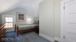 Third floor bedroom with generous size closet