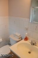 Full bath on 1st floor; stall shower