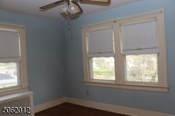 BR # 3 has windows on 2 sides; hardwood floors; ceiling fan