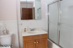 2nd floor main bath; has shower over tub