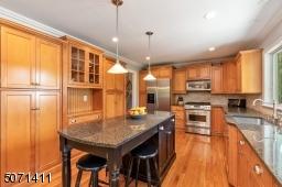 Granite Counters, Maple Cabinetry