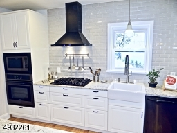 Check out the hood above the Stove
