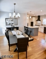 Flows to Kitchen and Living Room for perfect entertaining