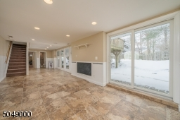 Floor to ceiling windows with walkout