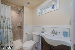 Lower level 3rd full bath with stall shower