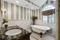 luxurious master bathroom, stall shower, soaking tub