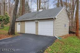 Oversized garages with storage attic