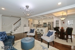 Layout is ideal for hosting a gathering!