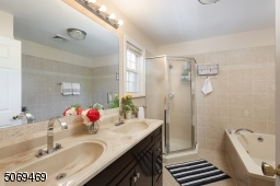 Master Bath w/Jetted Bath and Stall Shower