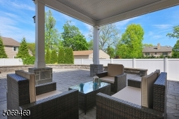 Covered Patio Perfect for Reading & Relaxing on a Raining Day!