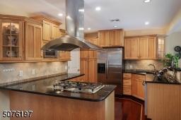 Gourmet Cooking Space