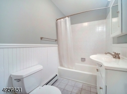 Renovated Main Bath w/Tub and Shower