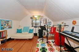 Currently used as music studio, features large cedar closet