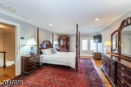 This sweeping master bedroom suite has 5 star written all over it. With a separate sitting area/office, dressing room, huge walk-in closet and a sumptuous marble spa, you may never want to leave this room!