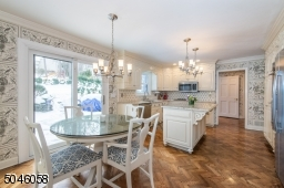 Fresh and crisp, the combined chef�??s kitchen and breakfast area features designer touches and boast more than enough space for all of your culinary needs. French doors lead to a sweeping deck that is perfect for al fresco dining and backyard BBQ�??s.