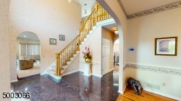 2 Levels with Granite Floors