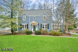 This Chatham center hall colonial is on a quiet tree lined street 0.6 miles to the train station and close to all schools and downtown.