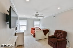 Recessed lighting, ceiling fan