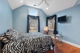 One of 3 additional second floor bedrooms