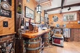 Your very own wine tasting/wine making area.