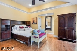 Large master bedroom with 2 walk in closets and master bath.