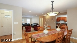 Alternate View of Dining  Room open to the kitchen